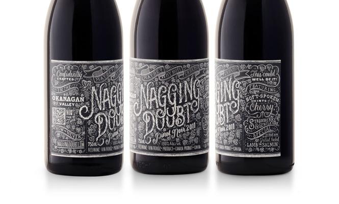 Artista: Tanamachi – Etiqueta vino Nagging Doubt