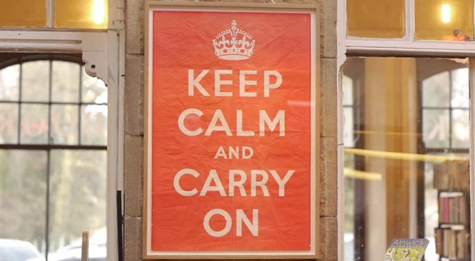 """""""Keep calm and carry on"""", uno de los iconos gráficos con más azar del siglo XXI"""