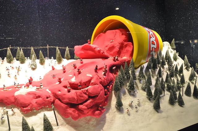 Selfridges escaparates de navidad