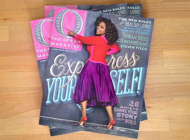 Artista: Tanamachi – Portada revista Oprah