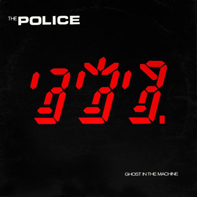 Portadas de discos: ¡Estas 40 tienen los diseños más increíbles!: The-Police Ghost In The-Machine 1981