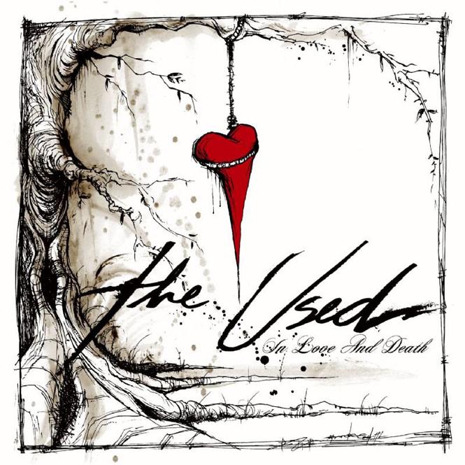 Portadas de discos: ¡Estas 40 tienen los diseños más increíbles!: The Used - In love And Death 2006