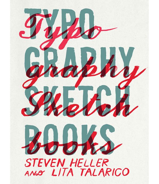 Typographic Book Cover Ups : Libro typography sketchbooks dadú estudio