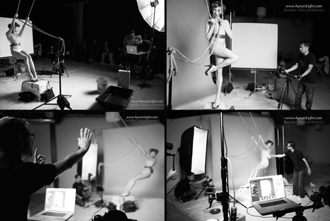 photo shooting milky pin ups
