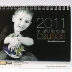 Portada calendario Dadú 2011