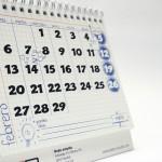 Página febrero calendario 2012