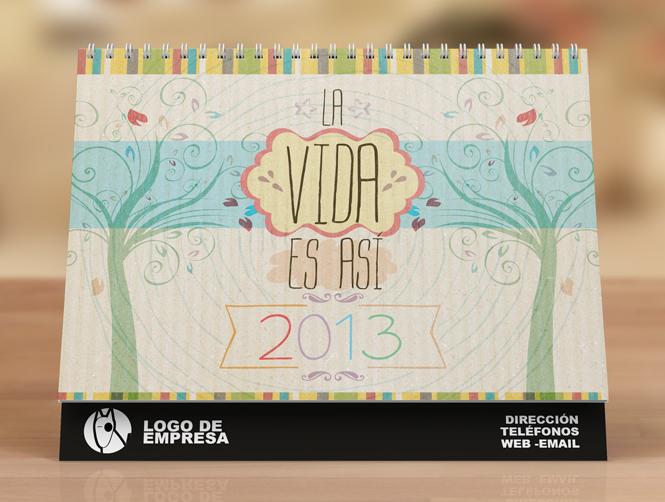 calendario 2013 portada