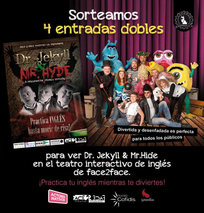 Teatro interactivo en inglés gratis en el Teatro Cofidis