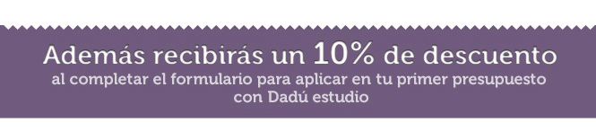 Descuento Dadu estudio