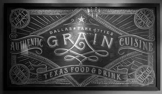 Artista: Tanamachi - Restaurante Grain / Dallas, Texas
