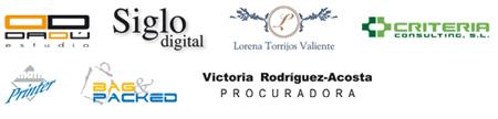 Logos colaboradores calendario Dadú estudio 2011