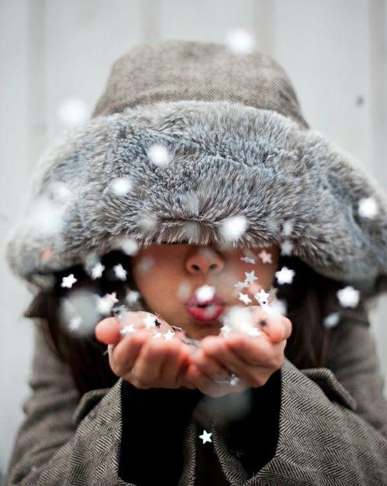 nieve de estrellas