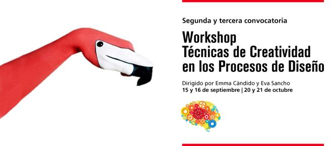Workshop: Técnicas de creatividad en los procesos de diseño